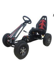 Volare Go Kart Racing Car groot met luchtbanden 643.