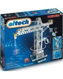 Eitech bouwdoos bouwkraan/windmolen staal zilver 270-delig c06