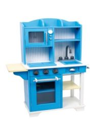Small Foot blauwe houten keuken 6561