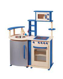 Howa Houten Keuken Blauw deLuxe 48131