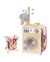 Howa Houten Wasmachine DeLuxe Wit 48141