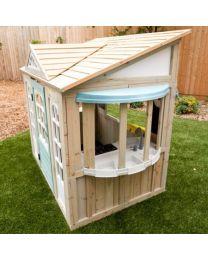 Kidkraft houten speelhuis - Meadowlane Market