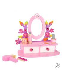 Small Foot Kleurrijke Houten Make-up Tafel Roze 10608