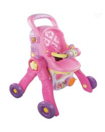Poppenwagen Vtech Little Love 3 in 1 Poppenwagen 80-154123