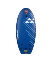Waimea surfboard Slick blauw 114 x 45 cm 8716404317034
