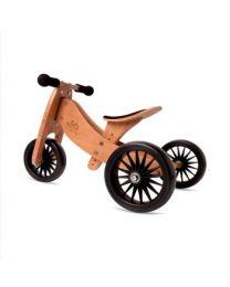 Kinderfeets Tiny Tot Plus 2-1 fiets Bamboo 3600