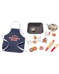 Howa bakset voor kinderen met schort 18-dlg. 4884