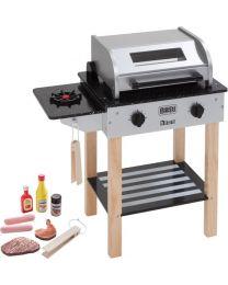 Howa Houten Speelgoed BBQ Barbecue met Accessoires 4821