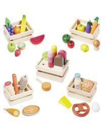Howa toebehoren speelwinkel groente, fruit, deegwaren en ijs 14876