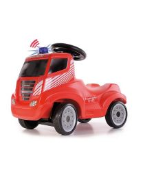 Truck brandweer loopauto Iveco Magirus