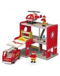 Viga Toys brandweerkazerne 50828