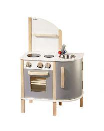Howa Houten Keuken deLuxe Staal Grijs 4816