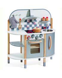 Howa houten Keuken Edel Staal Classic Gourmet 4818