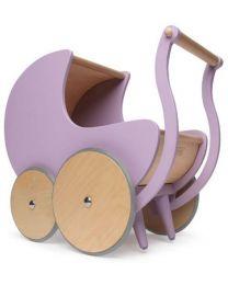 Kinderfeets poppenwagen / wandelwagen roze 24615