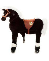 Animal Riding Paard Zwart Medium